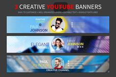 Bring your creative projects to life with over 3 million unique fonts, graphics, themes, photos, and templates designed by independent creators around the world. Youtube Banner Design, Youtube Banner Template, Youtube Banners, Art Template, Design Templates, Youtube Design, Social Media Template, Social Media Design, Business Brochure