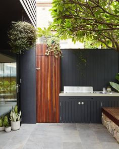 """Outstanding """"outdoor kitchen designs layout patio"""" information is readily available on our internet site. Take a look and you wont be sorry you did. Outdoor Rooms, Outdoor Gardens, Outdoor Living, Outdoor Decor, Outdoor Ideas, Outdoor Patios, Outdoor Kitchens, Outdoor Tiles Patio, Indoor Outdoor"""