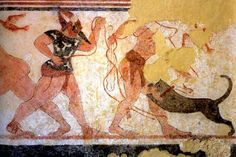 5. Crete and Greece:  Perizoma, the undergarment worn by Etruscan men and women