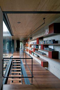Biblioteca aberta - Una Arquitetos Corredores (Foto: Divulgação)