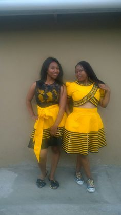 Faku Xhosa Attire, African Attire, African Wear, African Women, African Traditional Wedding, African Traditional Dresses, Traditional Outfits, African Print Dresses, African Fashion Dresses