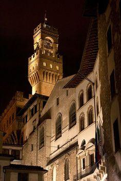 Palazzo Vecchio from Via dei Neri