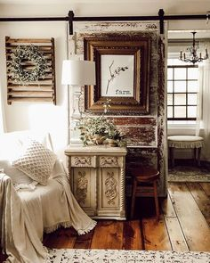 cozy cottage Christmas in the Master Bedroom – The House on Winchester Home Decor Kitchen, Home Decor Bedroom, Living Room Decor, Cozy Bedroom, Bedroom Ideas, Target Home Decor, Cheap Home Decor, Style At Home, French Country Bedrooms