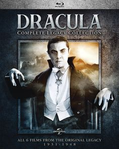 DRACULA LEGACY COLLECTION BLU-RAY SET (UNIVERSAL)