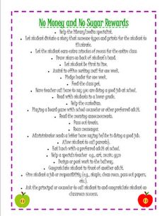 Great classroom management tips with a freebie with ideas for no cost and no candy rewards
