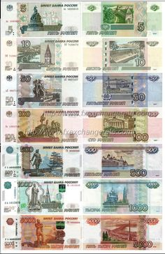 Russia Currency World paper bills Bank Account Balance, Money Template, Money Worksheets, Puerto Rico History, Money Notes, History Of India, Coin Worth, Old Money, Coin Collecting