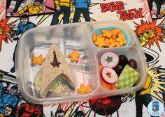 Bento for Kidlet: Star Trek Into Darkness Lunchbox