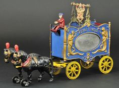 Porción # : 274 - HUBLEY ROYAL CIRCUS CLOWN TRAPEZE WAGON