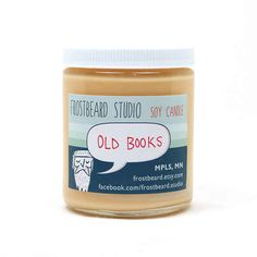 Book-Scented Candle | 24 Insanely Clever Gifts For Book Lovers