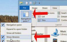 Những điều cần biết về các thư viện trong Windows 7/8