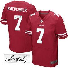 77712e254 Colin Kaepernick Elite Jersey-80%OFF Nike Autographed Colin Kaepernick  Elite Jersey at 49ers Shop. (Elite Nike Men s Colin Kaepernick Red Jersey)  San ...
