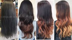 Gradually removing black box dye in Multiple sessions to ensure the health of the hair.