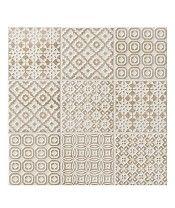 Batik Patchwork Beige Tile from Topps Tiles Patchwork Tiles, Batik Fabric, Beige Tile, Beige, Patchwork Kitchen, Neutral Decor, Topps Tiles, Green Tile, Curated Decor