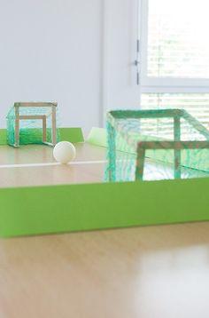 Fabriquer un jeu de foot de table avec YouJustDo !