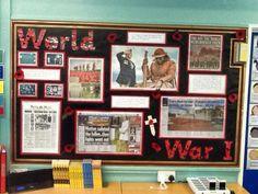 World War One display