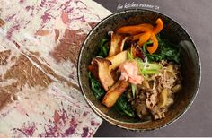 Gyudon  Recipe on blog  http://thekitchenrunner01.blogspot.ca/