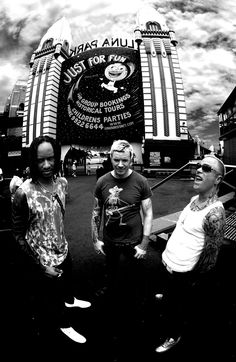The Prodigy- First gig I was ever at was The Prodigy I was only 16/17, I had my hair shaved into a Mohawk and bleached white twas one hell of a nuts concert. Seen them like 4 times after that and they've gotten better every time