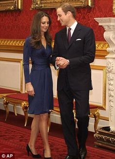 11/16/2010: Engagement announcement at St. James's Palace, with Prince William (Westminster, London)
