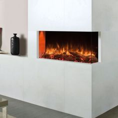 If you are thinking of installing a eReflex outset fire, you may wish to consider these optional finished pieces to complete your installation Electric Stove Fire, Inset Electric Fires, Fire Basket, Gas Fires, Living Room Tv, Blue Accents, Car Parking, Stoves