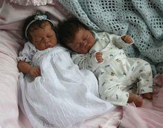 African American Reborn Baby Dolls | African American Sleeping Baby Boy Reborn Doll