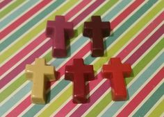 Cross Crayons Great For Easter Gifts And by KrazyKoolKrayons