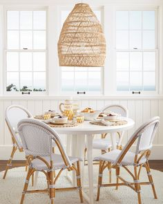 Side Chairs, Dining Chairs, Dining Table, Dining Rooms, Dining Area, Kitchen Tables, Round Kitchen, Kitchen Nook, Desk Chairs
