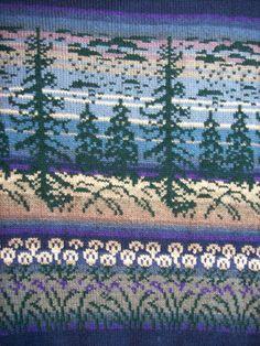 Neuleet lahjaksi naiselle tai miehelle | Päivineule, Joensuu, Lieksa Fair Isle Knitting Patterns, Knitting Charts, Knitting Stitches, Crochet Crafts, Crochet Yarn, Knit Cowl, Double Knitting, Perler Beads, Needlework