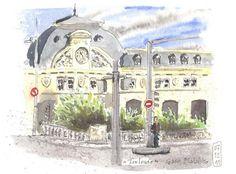 Toulouse, gare Matabiau (©Cigara)