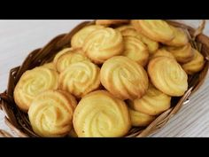 Easy Homemade Butter Cookies Recipe/How to make Butter Cookies Cookie Recipes video recipe – The Most Practical and Easy Recipes Homemade Butter Cookies Recipe, Easy Cookie Recipes, Snack Recipes, Cooking Recipes, Homemade Recipe, Pineapple Angel Food, Peanut Butter Banana Bread, Basic Cookies, Apple Dump Cakes