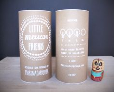 Little Mexican Friends by Marina Capdevila, via Behance