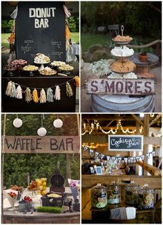 Wedding Food Stations | American-Style Snack Stations