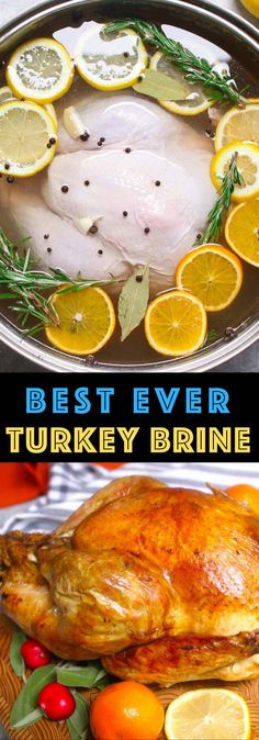 A great turkey brine is the first step to getting the perfect tender and juicy turkey, whether roasted or smoked. Learn how to brine a turkey with this quick and easy recipe made with salt, water, bro Smoked Turkey Brine, Easy Turkey Brine, Roasted Turkey, Brining Turkey Recipe, Easy Turkey Recipes, Easy Recipes, Best Turkey, Brime For Turkey, Cooking For Two
