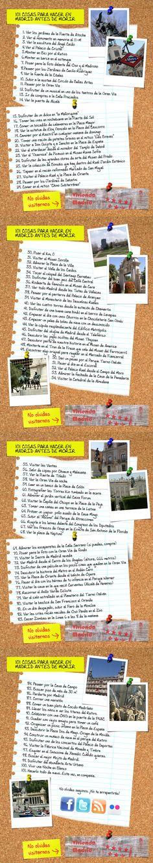 101 cosas para hacer en Madrid antes de morir