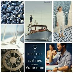 In high tide or low tide, I'll be by your side. #moodboard #mosaic #collage #inspirationboard #byJeetje♡
