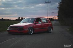 golf 3 red Golf Mk3, Volkswagen Golf, Passion