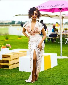 WEBSTA @ dineomoeketsi - Captured in by jewelry hair do Beautiful South African Women, Beautiful Celebrities, Dress Me Up, Occasion Dresses, Female Bodies, Evening Gowns, What To Wear, Wrap Dress, My Style