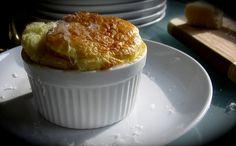 Classic Cheese Soufflés in Individual Ramekins