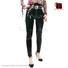 Latex Jeans rubber pants trousers pantaloons britches pencil belt Skinny pockets Tapered Leg Bottoms breeches Fetish Bondage XXL - http://fashionfromchina.net/?product=latex-jeans-rubber-pants-trousers-pantaloons-britches-pencil-belt-skinny-pockets-tapered-leg-bottoms-breeches-fetish-bondage-xxl