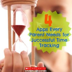 Click for apps that help parents and kids pay better attention to time.