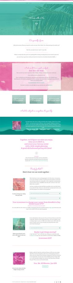 Your DayDream Life | Branding, Web Design & Development | Coral Antler Creative