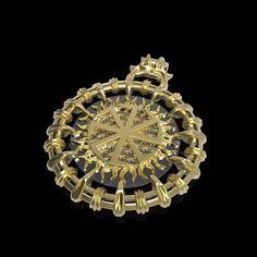 Veles amulet Slavic jewelry Nordic pendant Viking pendant Celtic