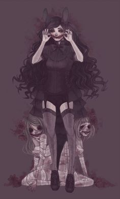 horror anime more like beauty Dark Anime, M Anime, Anime Art, Creepy Drawings, Creepy Art, Scary, Art Goth, Gothic Art, Anime Negra