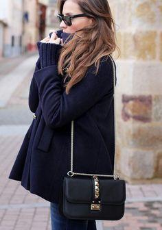 n sac noir Valentino Glam Lock
