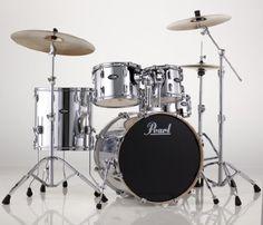 pearl export series 5 piece drum set w 4 zildjian cymbals stands stool green pearl. Black Bedroom Furniture Sets. Home Design Ideas