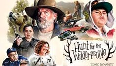 """Hunt for the Wilderpeople : """" Nature Just Got Gangster """" In Theatres : June 2016 (USA), 16 September 2016 (UK). Great Movies To Watch, Good Movies, Wilder People, Hunt For The Wilderpeople, Flight Of The Conchords, Sam Neill, Taika Waititi, Odd Couples, Tv Reviews"""