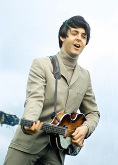 "Paul in the film ""Help!"" - The Beatles"