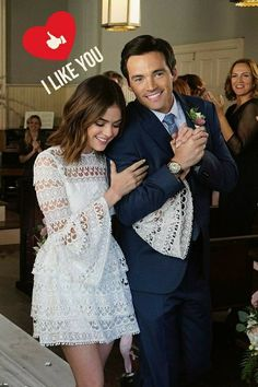 When Ezra and Aria get married.