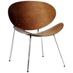 Reaves Walnut Effect Accent Chairs, Set of 2 made by Baxton Studios. Welcome to LuxeYard.com
