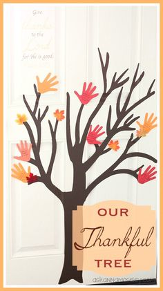 Our Thankful tree -- Ask Anna