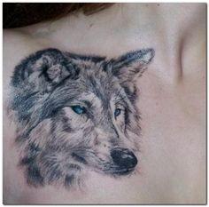 tatuagem de lobo 7 Mais
